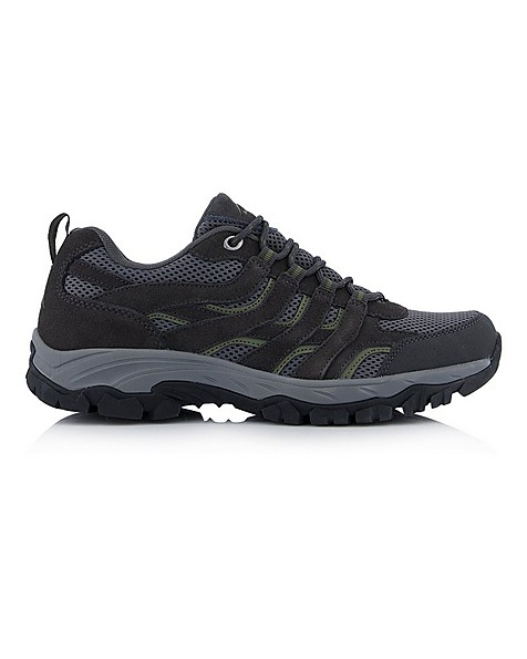 K-Way Men's Elements Trailwind Shoe -  charcoal-khaki