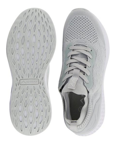 K-Way Women's Urban Engage Shoe -  lightgrey-white