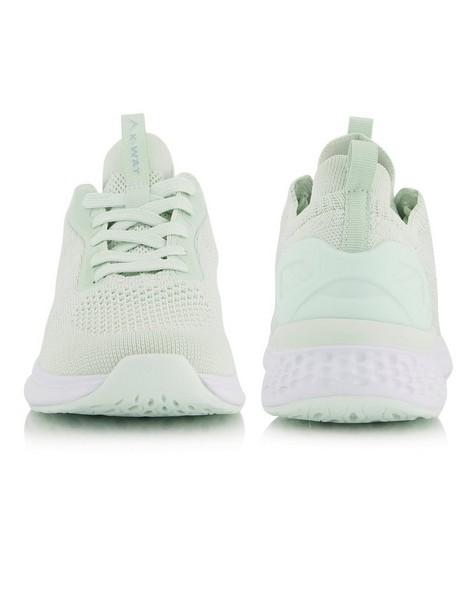 K-Way Women's Urban Engage Shoe -  aqua-white