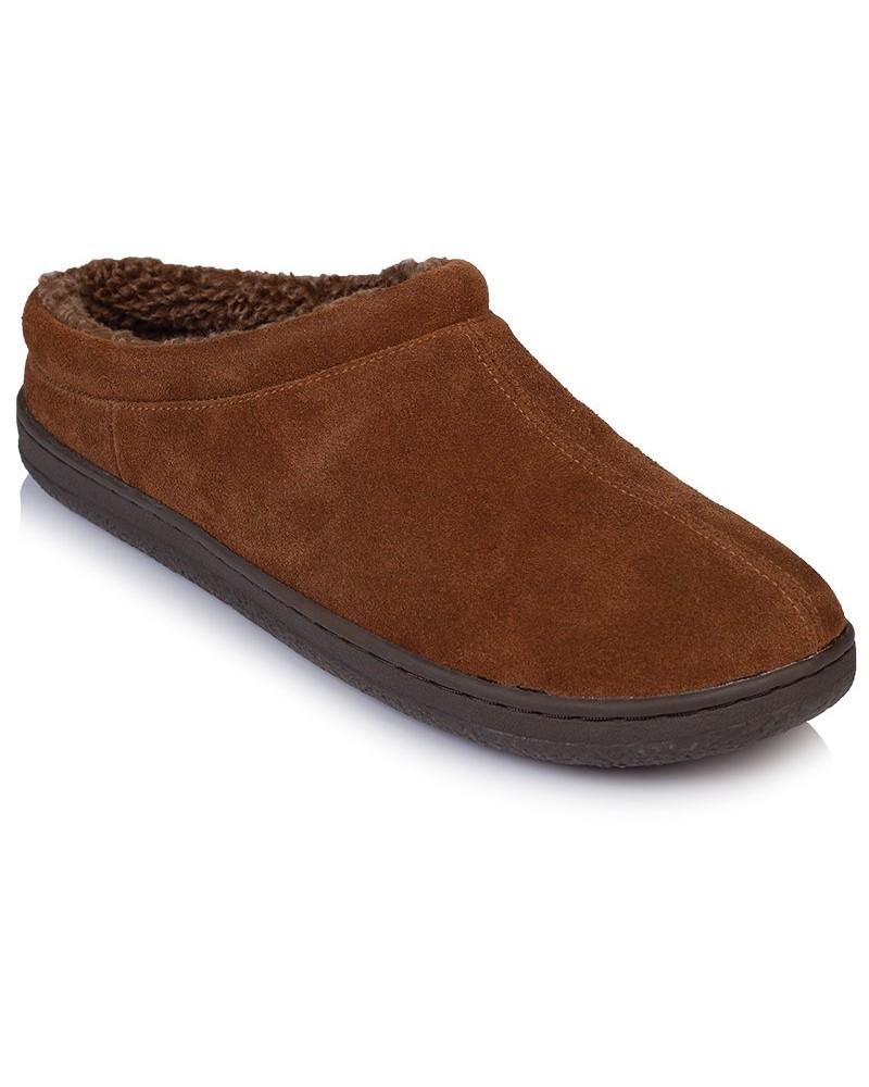 Cape Union Men's Barnsley Slipper -  brown-chocolate