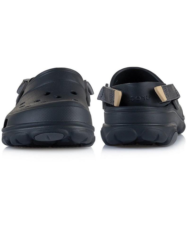 Crocs Men's Classic All Terrain Clog -  black-grey