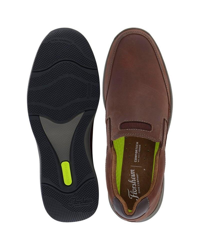 Florsheim Great Lakes Slip On Shoe (Mens) -  brown