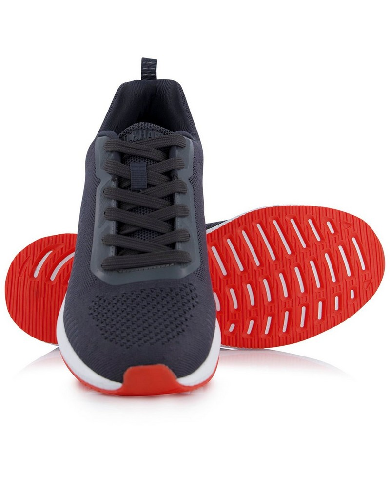 Old Khaki Men's Holt Sneaker -  charcoal-red