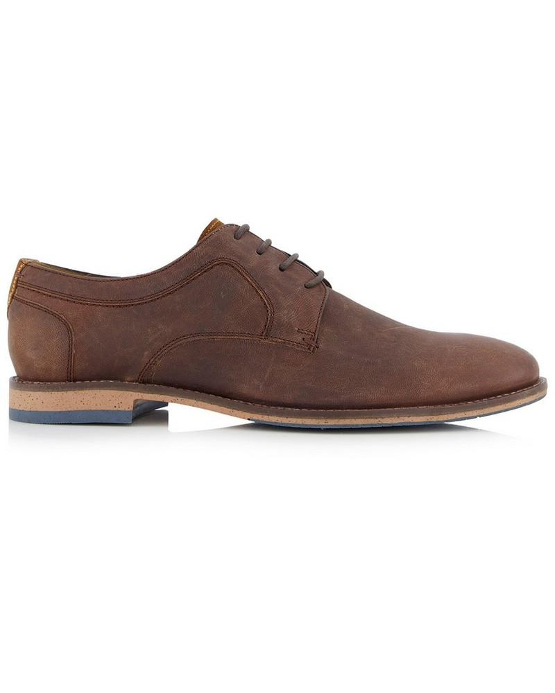 Cape Union Men's Rex Shoe -  brown