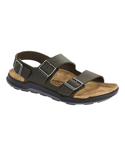 Birkenstock Men's Milano Sandal -  khaki