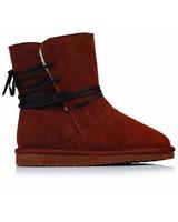 Rare Earth Sutherland Boot (Ladies) -  rust-cream