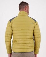 K-Way 40YY Men's Drake Down Jacket -  camel-graphite