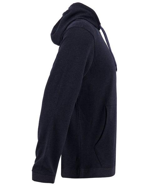 K-Way Men's Steve Pullover Hooded Top -  black