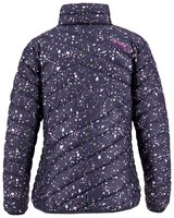 K-Way MMXXI Women's Printed Tundra Down Jacket -  indigo-fuchsia