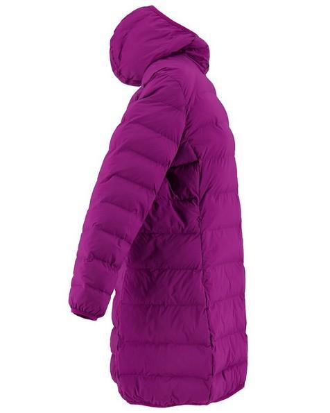 K-Way Women's Luna Eco Padded Coat -  purple