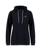 K-Way Women's Madison Pullover Hooded Top -  black-cloudblue