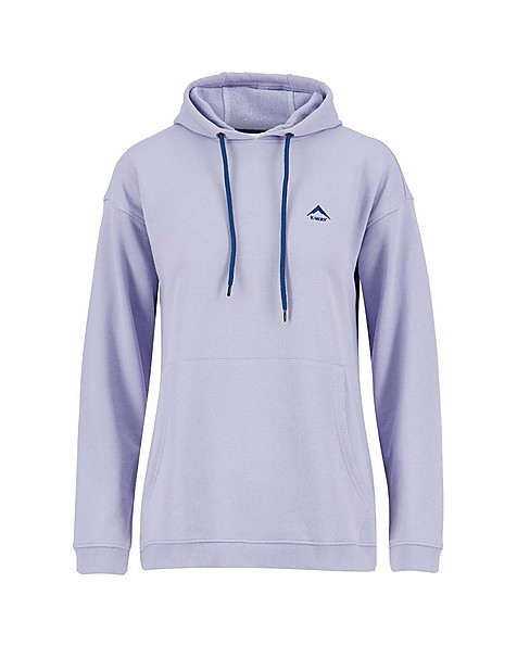 K-Way Women's Madison Pullover Hooded Top -  iceblue-airforce