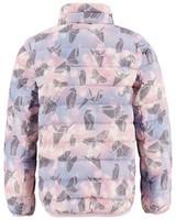 K-Way Kids Azania Reversible Printed Down Jacket -  dustypink