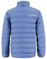 K-Way Kids Azania Reversible Printed Down Jacket -  mid-blue