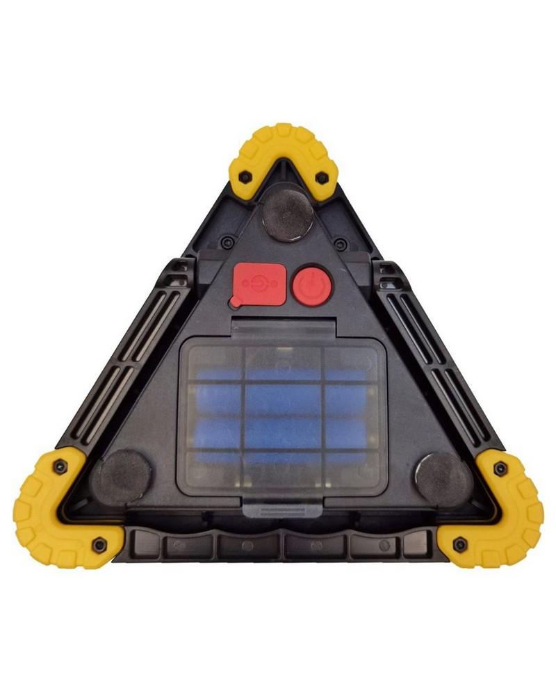 Zartek ZA840 Rechargeable Worklight -  black-yellow