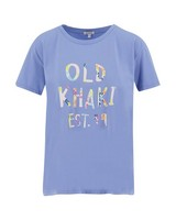 Old Khaki Women's Haven Tee -  blue