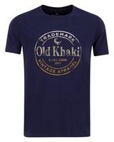 Old Khaki Men's Ekon T-Shirt -  navy