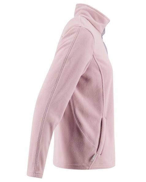 K-Way Retro Quarter Zip Fleece (Lds) -  dustypink-lilac