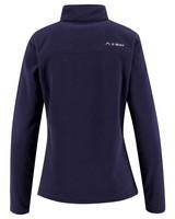 K-Way Retro Quarter Zip Fleece (Lds) -  navy-dustypink