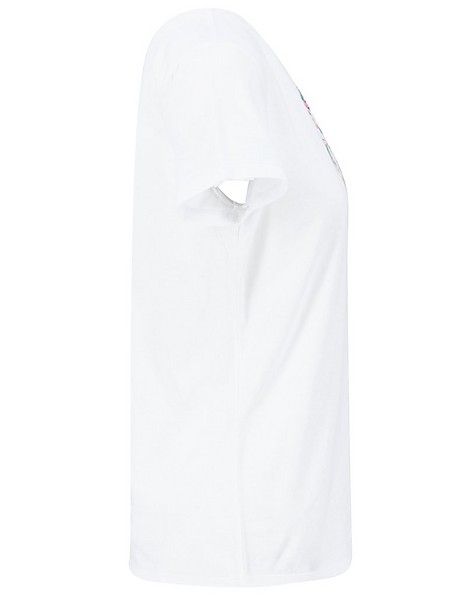 Old Khaki Women's Zia T-Shirt -  white-yellow