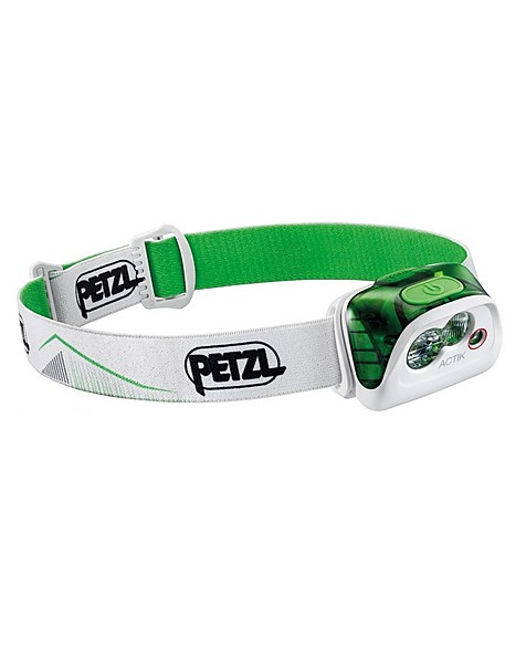 Petzl Actik 350 Lumen Headlamp -  white-green