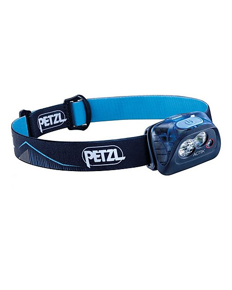 Petzl Actik 350 Lumen Headlamp -  blue