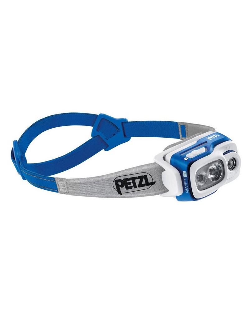 Petzl Swift 900 Lumen Headlamp -  blue-grey