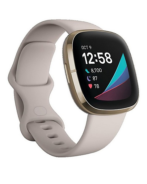 Fitbit Sense Watch -  white-gold