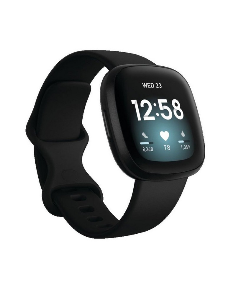 Fitbit Versa 3 Watch -  black
