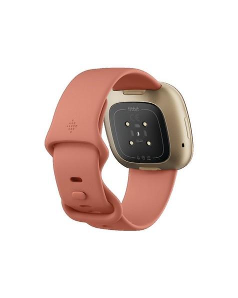 Fitbit Versa 3 Watch -  pink-gold