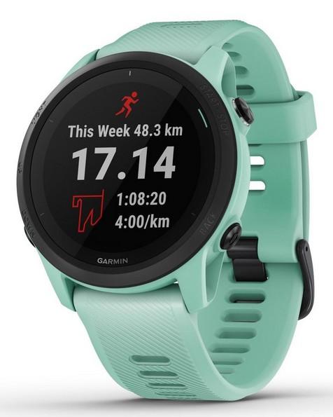 Garmin Forerunner 745 GPS Fitness Watch -  seablue