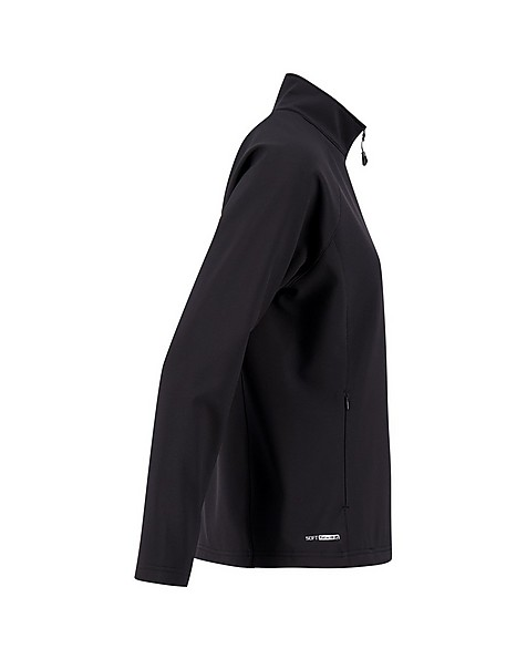 K-Way Mira Women's Eco Softshell Jacket -  black