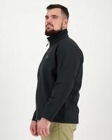 K-Way Men's Felixx Eco Softshell Jacket -  black-black