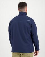 K-Way Men's Felixx Eco Softshell Jacket -  navy-navy