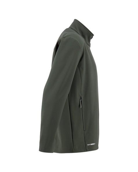 K-Way Men's Felixx Eco Softshell Jacket -  darkolive-olive