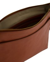 Rare Earth Women's Milena Leather Fold-Over Shopper -  tan