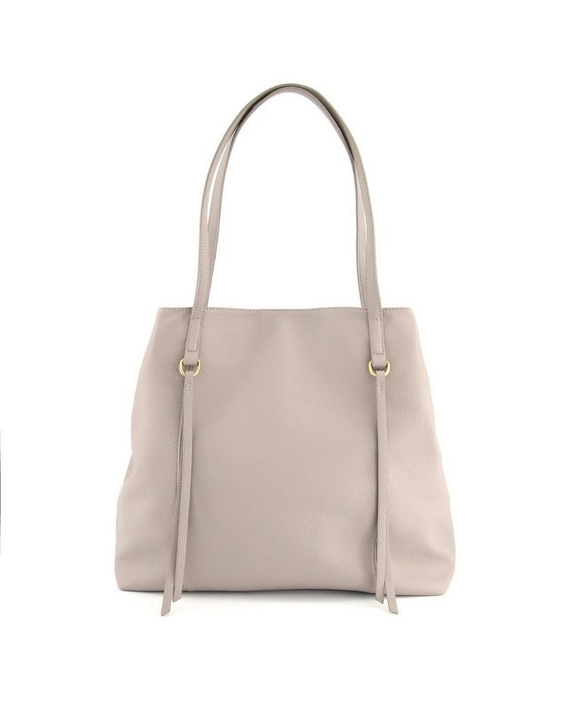 Rare Earth Women's Ari PU Shopper -  grey