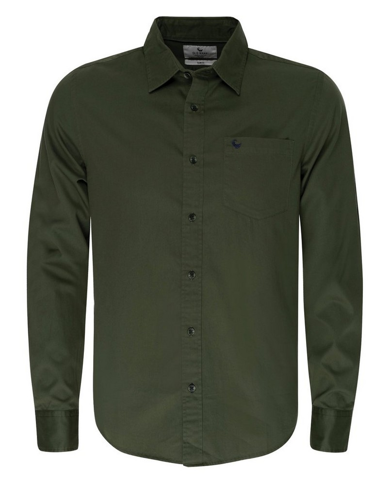 Old Khaki Men's Milano Shirt -  olive