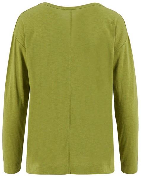 Rare Earth Women's Porter Slub Long-Sleeve Top -  chartreuse