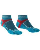 Bridgedale Men's Trail Run Coolmax Low Sock -  blue