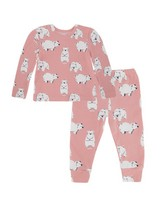 Baby Girls Lily PJ Set -  palepink