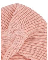 Girls Amelie Knot Beanie -  lightpink