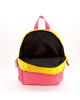 Girls Colourblock Backpack -  lightpink