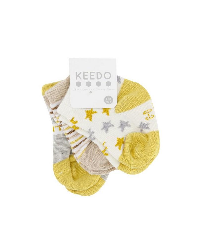 Babies Jules 3-Pack Socks -  assorted