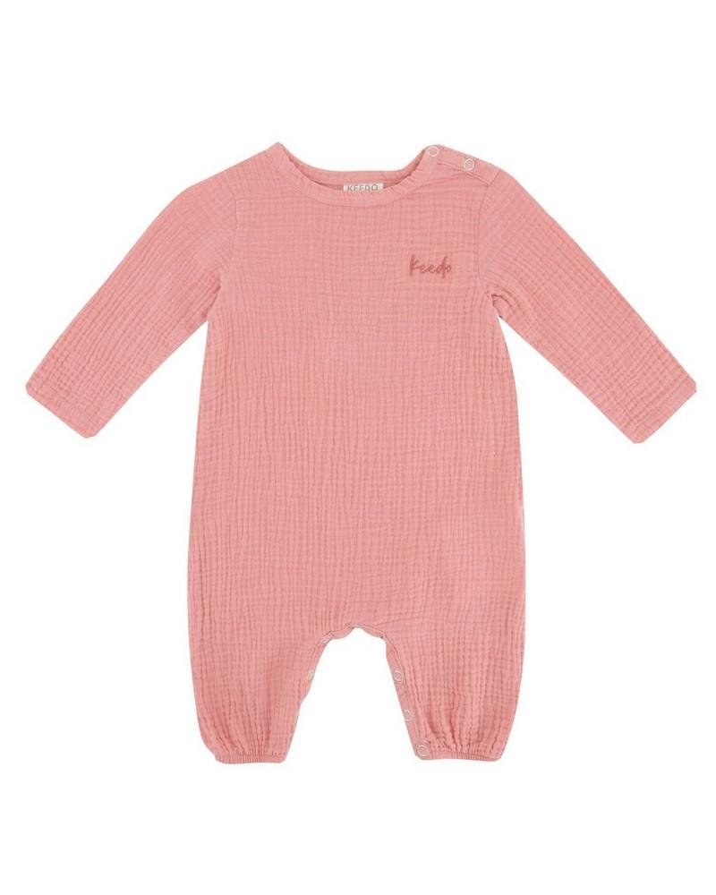 Baby Girls Lily Muslin Grow -  dustypink