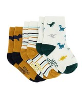 Boys 3-Pack Grayson Socks  -  assorted