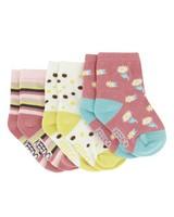 Babies 3-Pack Dakota Socks -  assorted