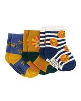 Baby Boys 3-Pack Tucker Socks -  assorted