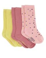Girls 3-Pack Ellen Socks -  assorted