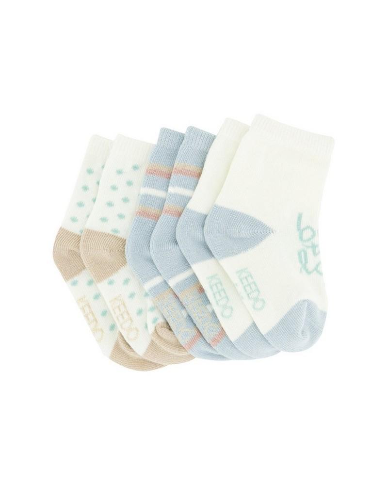 Baby Boys 3-Pack Oakley Socks -  assorted
